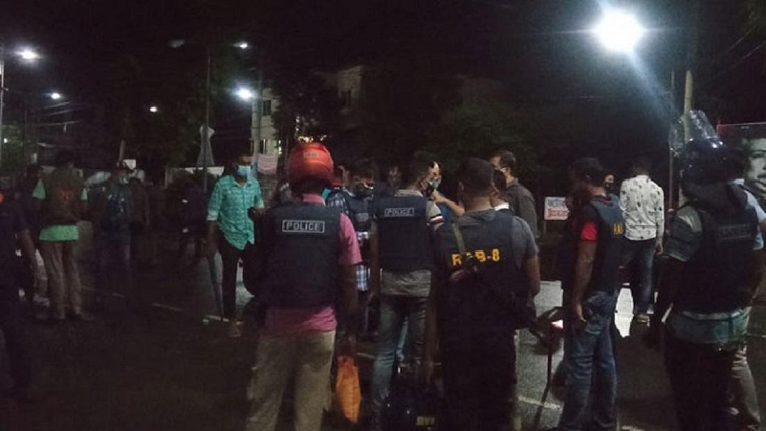 বরিশাল ইউএনও'র বাসভবনে হামলা, গুলিবিদ্ধসহ আহত ৩৫