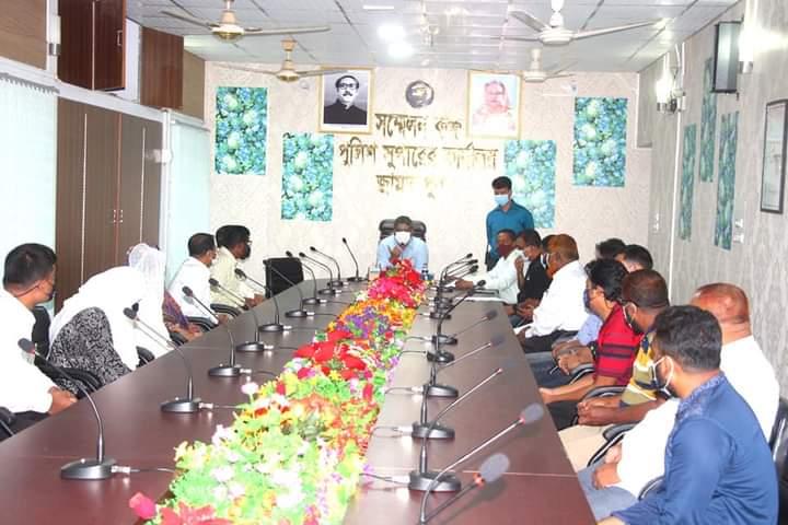 জামালপুর জেলা পুলিশ সুপার ডিএসবি এর সদস্যদের সাথে মতবিনিময় সভা